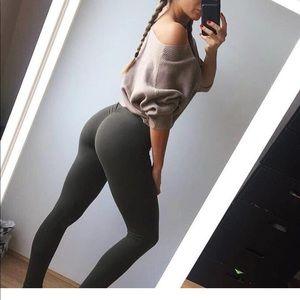 New Scrunch Booty Boost Push Up Leggings